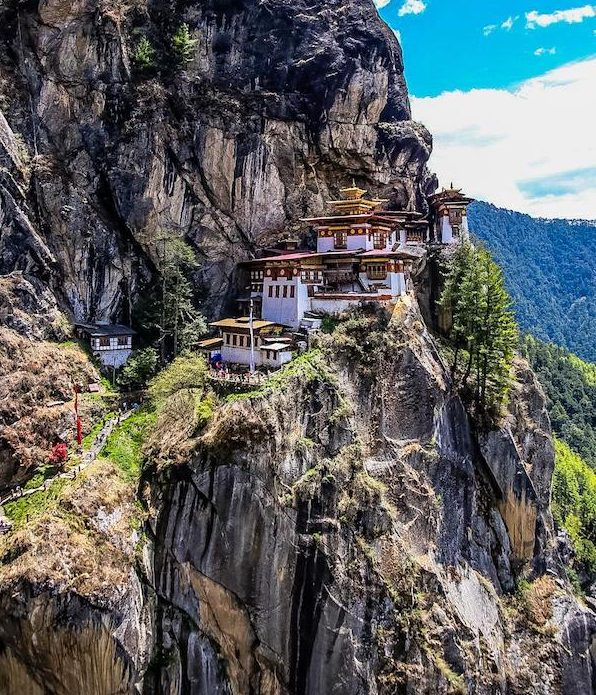 Tiger Nest w Bhutanie