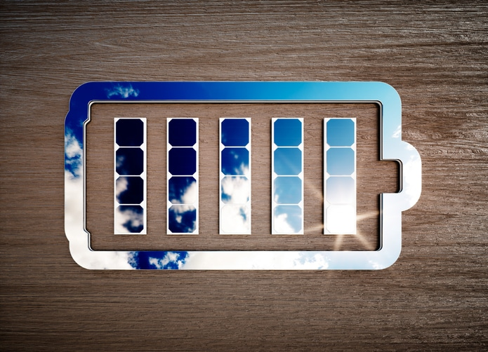 symboliczne przedstawienie magazynu energii dla globalnego rynku magazynów energii