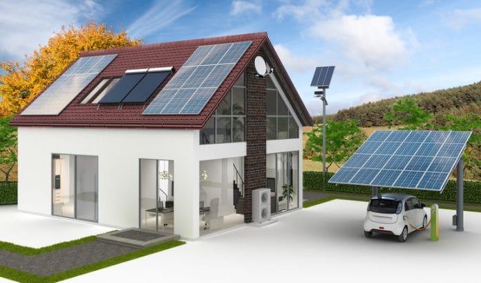 dom z OZE i magazynem energii
