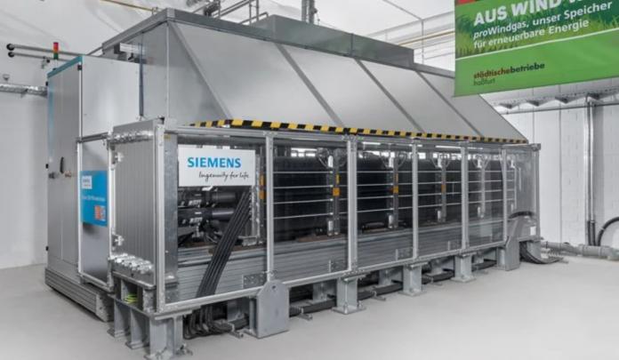 Elektrolizer Silyzer firmy Siemens Energy