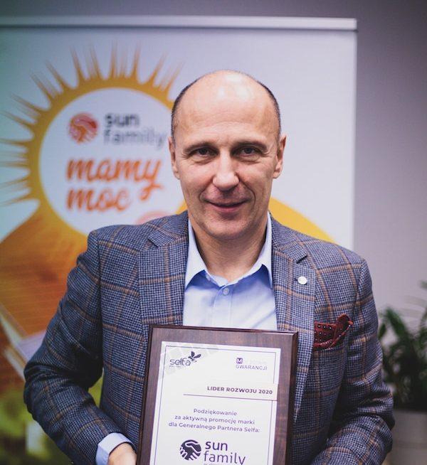 Cezary Dembski, Prezes Zarządu Sun Family