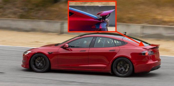 Tesla S, która pobiła rekord świata na ćwierć mili