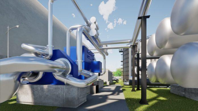 Render magazynu energii w CO2