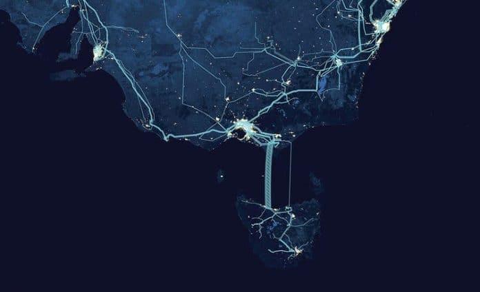 Obrazek przedstawiający Marinus Link, który ma dać drugie połączenie elektryczne z Tasmanii na kontynent.