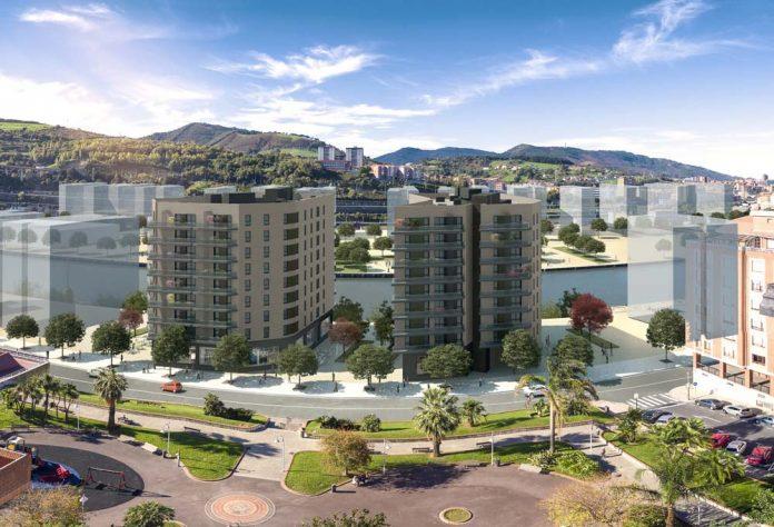 Zielony projekt Zorrotzaurre. Sztuczna wyspa w Bilbao, jest przekształcana w dzielnicę mieszkaniowo-biznesową o niskim zużyciu energii