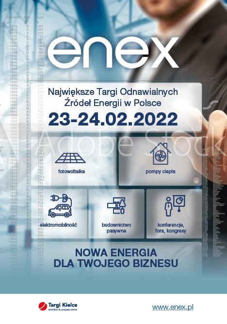 Grafika targów energetycznych Enex