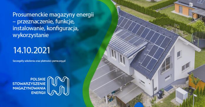 Prosumenckie magazyny energii – szkolenie baner
