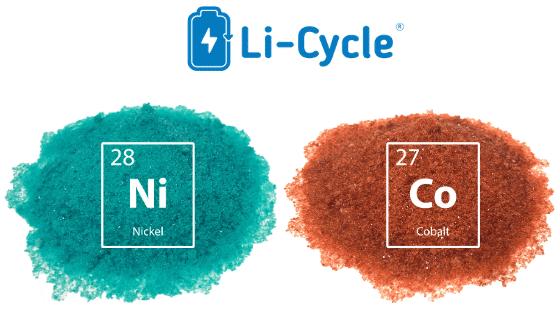 Dwuetapowy proces recyklingu akumulatorów Li-Cycle umożliwia odzyskiwanie niklu, kobaltu i węglanu litu