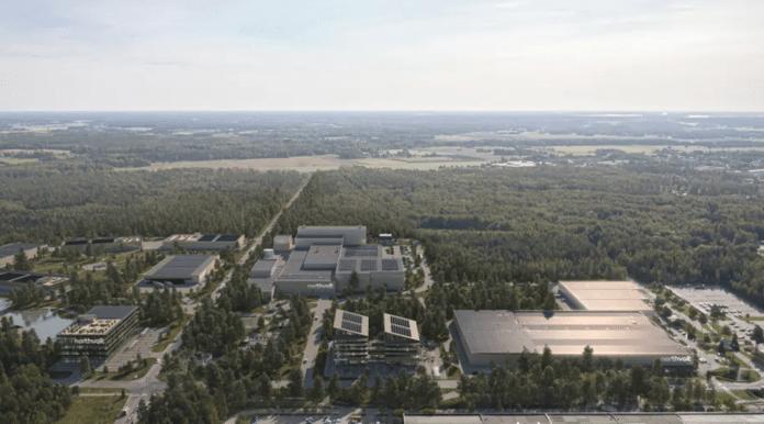 Northvolt labs w Västerås
